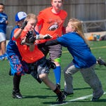 St. Cloud area Minnesota Youth 7 on 7 Passing League games