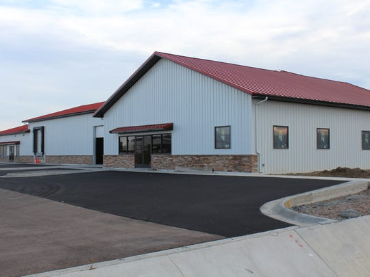 The soon to be completed offices for Friesen Nutrition are located off 6th Street  SW immediately adjacent to the NAPA auto store retail store and warehouse.