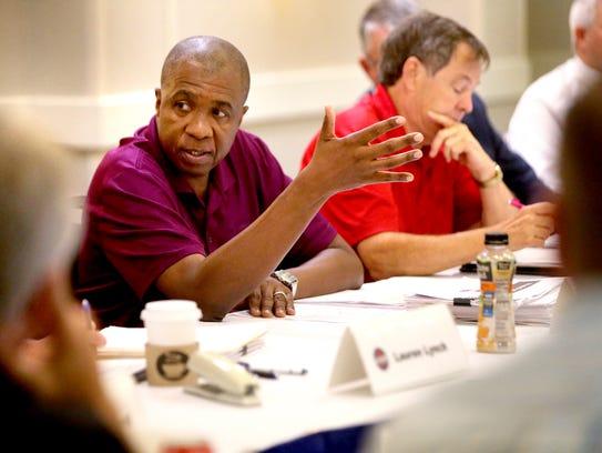 TSSAA Executive Director Bernard Childress answers