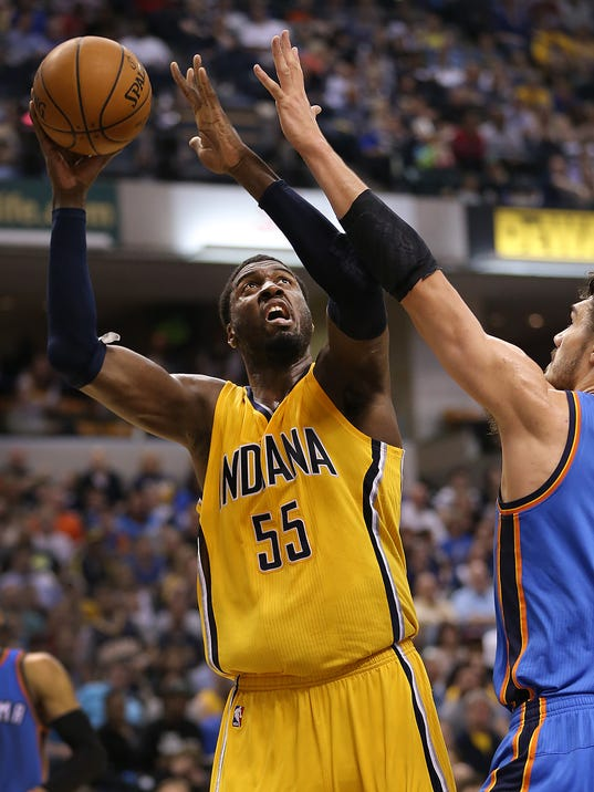 Indiana pacers trade options