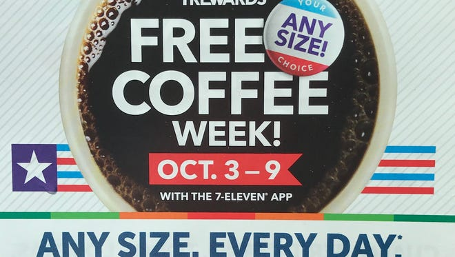 You'll need to have the 7-Eleven app to take advantage of Free Coffee Week.