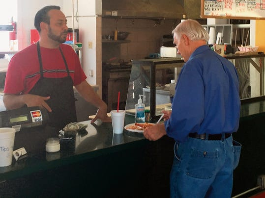 Chileo's new owner Leo Garcia creates his own recipes, building the business on good food.