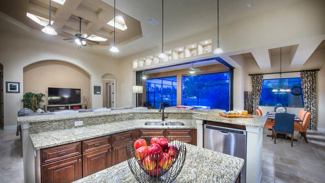 This model in Cape Coral is aimed more at the blue collar retiree.