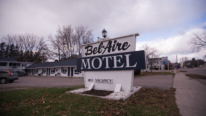Champlain Housing Trust  has announced plans to buy Bel Aire Motel on Shelburne Road in Burlington, pictured Friday.