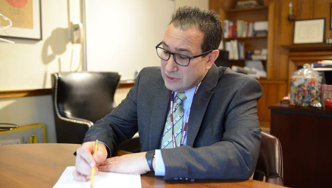 """Englewood Schools Superintendent Robert Kravitz on the affected students: """"Our goal, even if they're missing several classes, will be to get them to graduate."""""""
