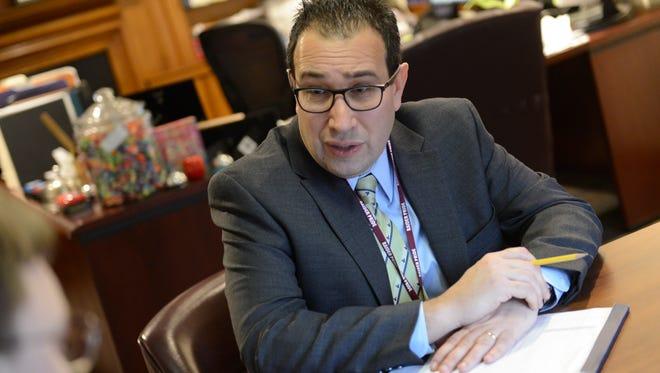 Englewood Superintendent of Schools Robert Kravitz