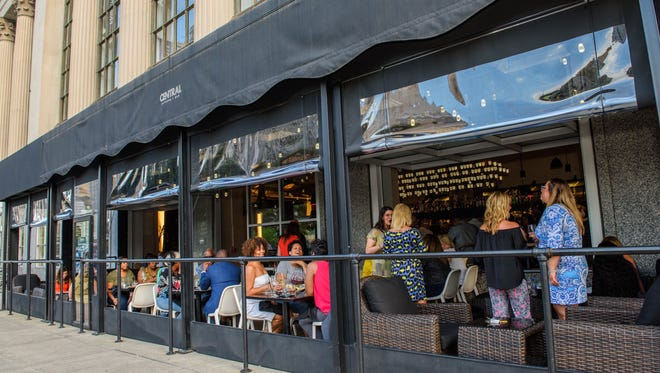 Central Kitchen + Bar offers a window into the cross-section of downtown Detroit's present day.