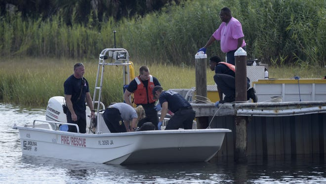 PPD recovers the body from Pensacola near the Port of Pensacola.