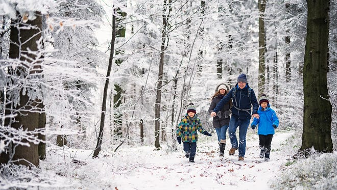 Get the New Year off on the right foot with a winter hike. First Hikes are an annual event that call attention to our nation's parks and forests.