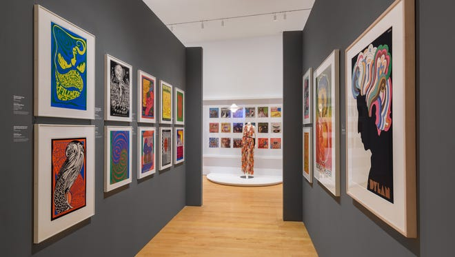 A view of the 'Design in Revolution: A 1960s Odyssey' at the Philadelphia Museum of Art's Perelman Building.