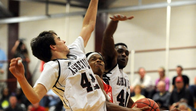 The Asheville High and Erwin boys will play for the third time Tuesday at Erwin.