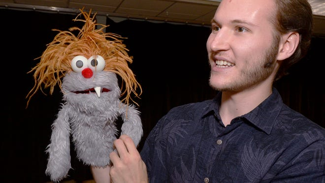 Canton High School grad Chase Woolner is a puppet master, having earned his bachelor of fine arts degree from the California Institute of the Arts.