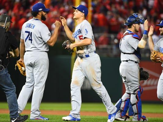 USP MLB: NLDS-LOS ANGELES DODGERS AT WASHINGTON NA S BBN USA DC