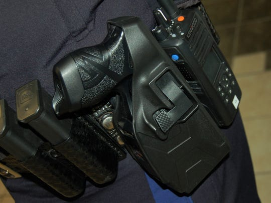 Washoe County School District police department is the only law enforcement agency in the area that does not equip officers with Tasers.