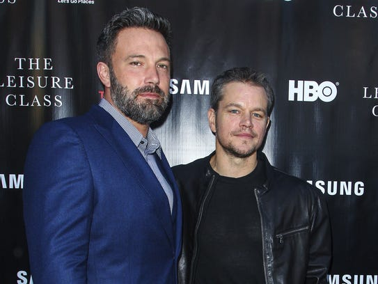 "Ben Affleck, left, and Matt Damon, who grew up in Boston, will serve as executive producers of Showtime's ""City on a Hill,"" a drama set in Boston in the 1990s."