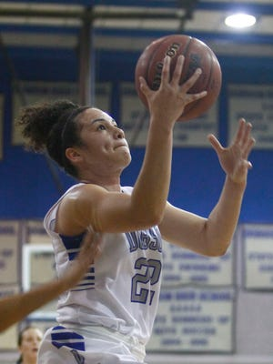 Dobson's Alexis Todd scored 19 points as Dobson won its 11th consecutive game, a 57-38 victory over Scottsdale Chaparral.