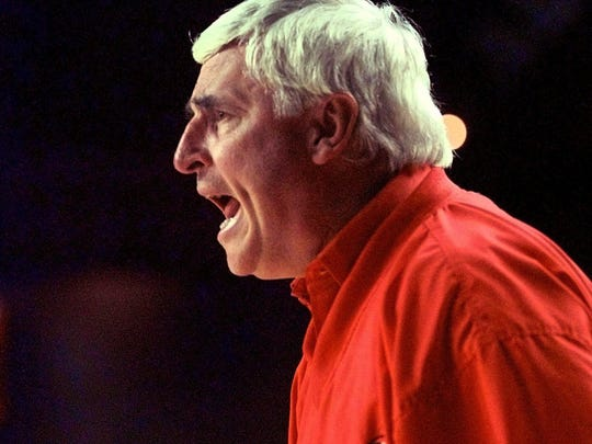 "Bob Knight didn't rule out a return to Assembly Hall last month when asked by a fan about it. ""Let's go tomorrow,"" he said."