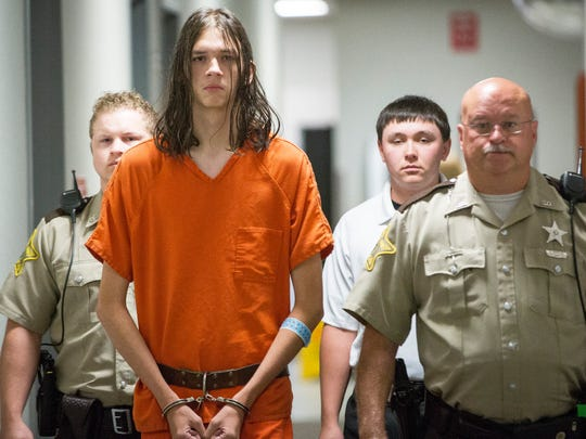 Jaylin Ammon, charged with murder in the Aug. 10 stabbing