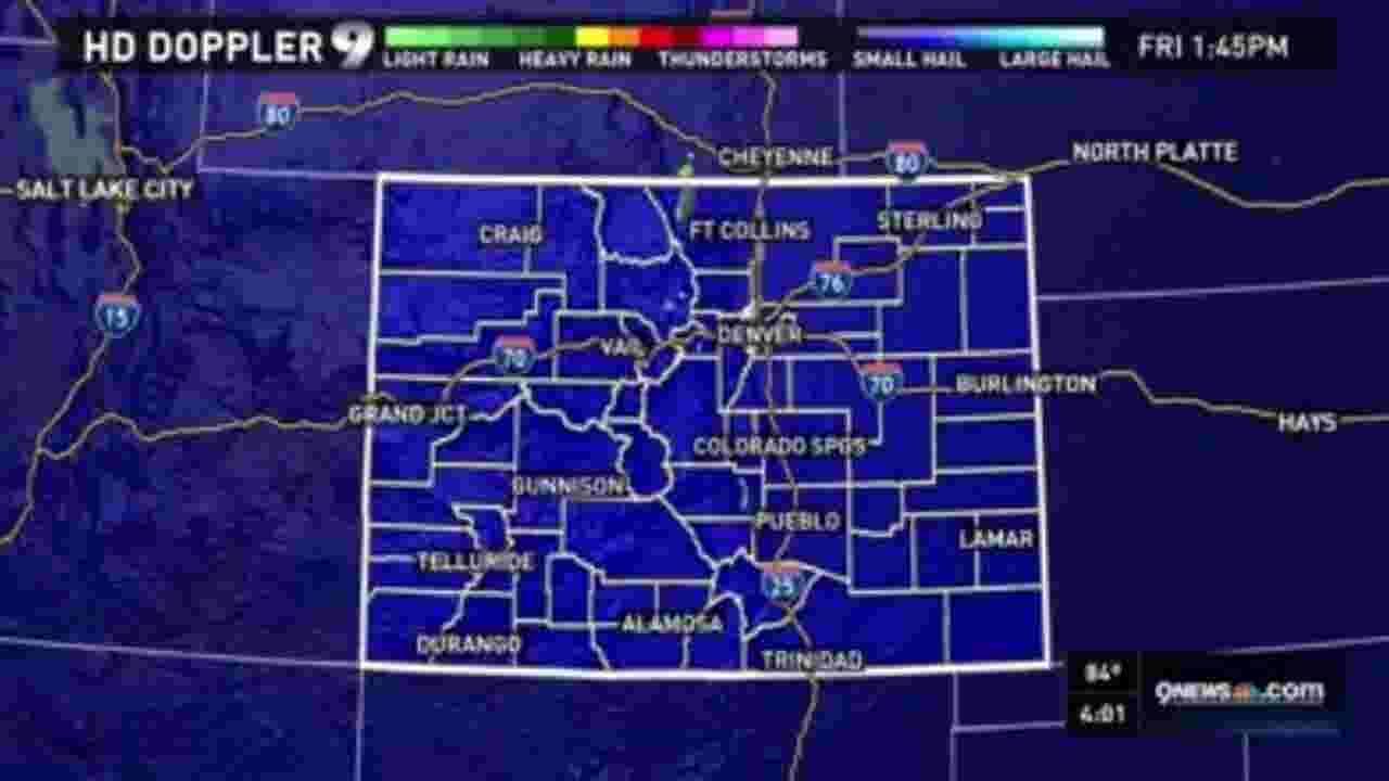9news afternoon weather update for June 17, 2016