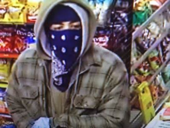 This is a picture of one of the suspects apparently