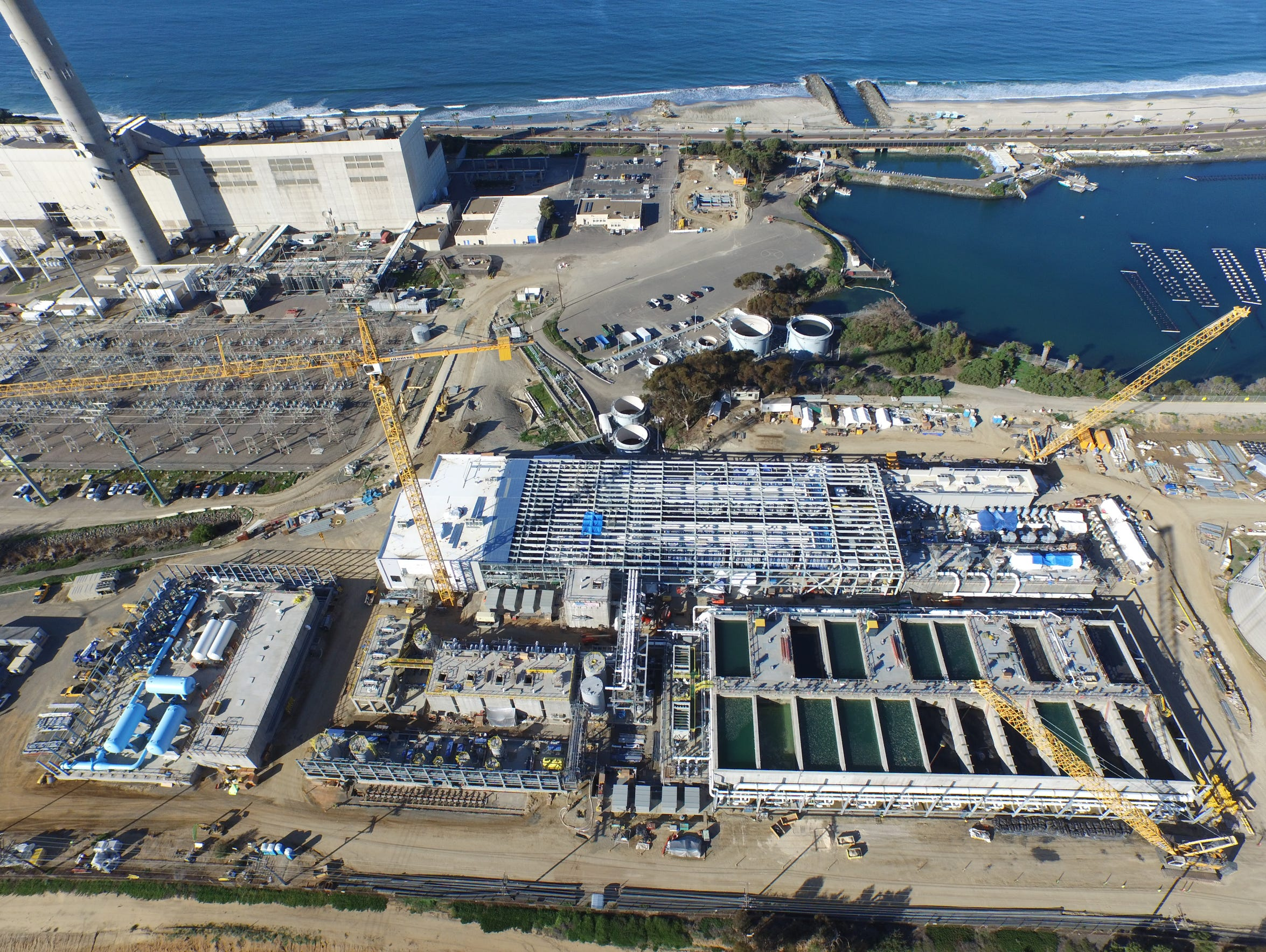 The largest desal plant in the Western Hemisphere will