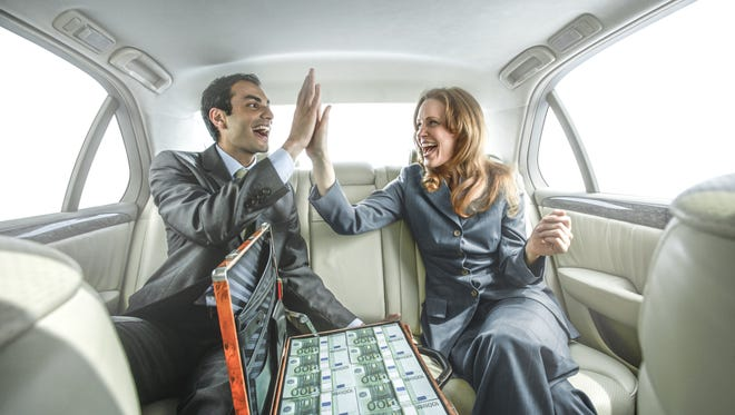 Evidence shows happier people invest more money.