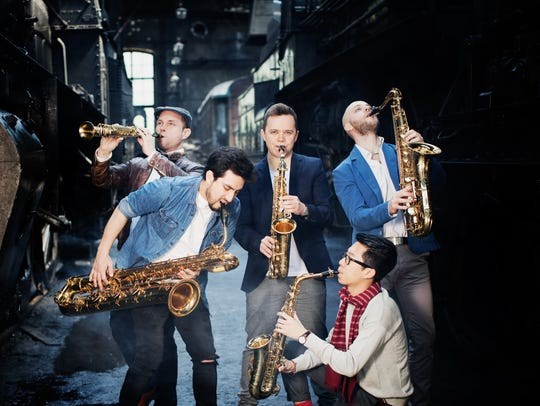 """Shasta Live concert series this season featured """"Five Sax."""" The community concert series is calling it quits after 81 years."""