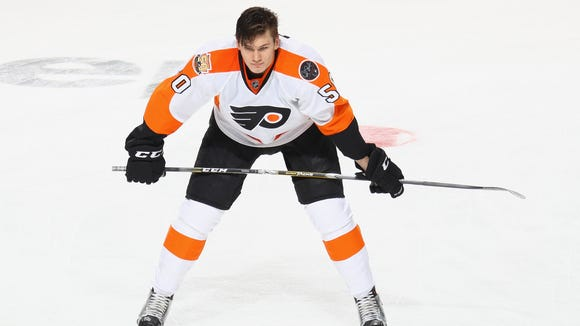 Samuel Morin played only two NHL games and 15 regular-season AHL games after an injury-riddled season.