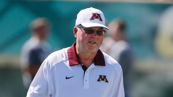 Jerry Kill went 29-29 in five years at Minnesota.