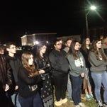 Protesters rally for 'To Kill a Mockingbird,' Huck Finn