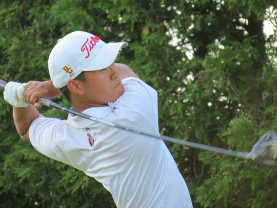 Bergen Catholic senior James Pak won sectional and