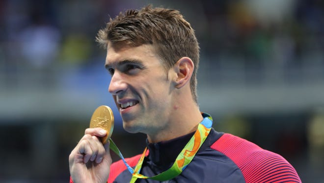 In Rio, Michael Phelps won gold in the men's 200 individual medley. He says Rio was his last Olympics.