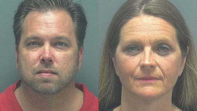 Andrew Biddle, 43 and Brenda Biddle, 46