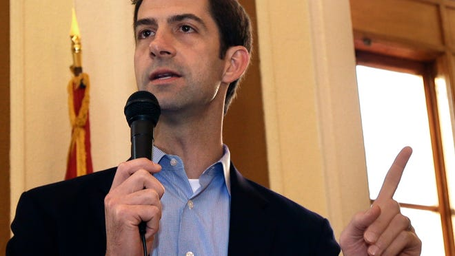 Sen. Tom Cotton, R-Ark. The man leading the effort to torpedo an agreement with Iran is a rookie Republican senator, an Army veteran with a Harvard law degree and a long record of tough rhetoric against President Barack Obama's foreign policy. Cotton's previous forays into foreign policy raised as many hackles as the letter he authored this week lecturing Iran's leaders on American democracy. This time, 46 fellow Republicans signed onto the document.