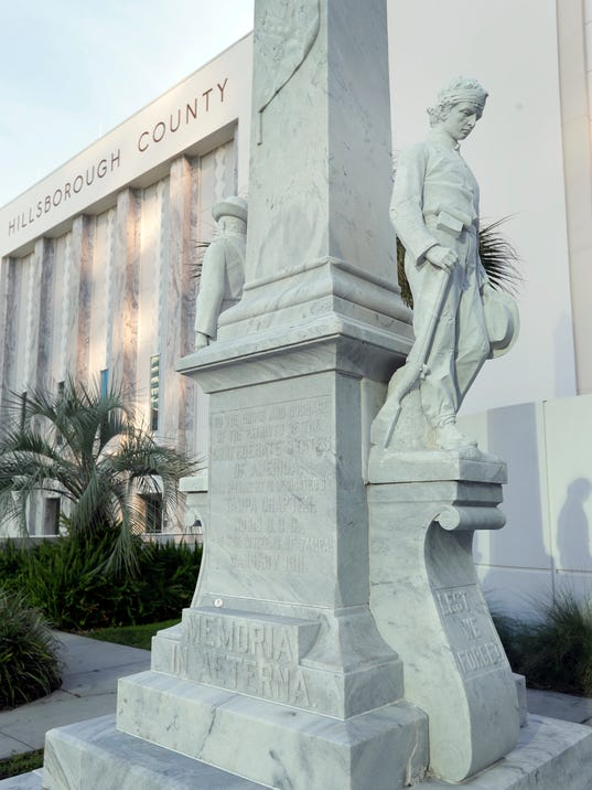 AP CONFEDERATE MONUMENT FLORIDA A USA FL