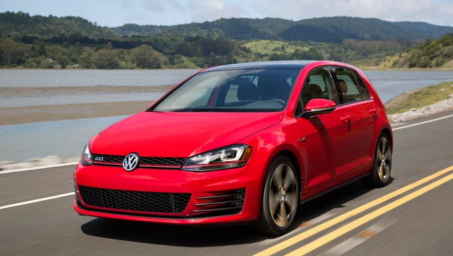 The 2015 Volkswagen Golf GTI is one of the vehicles under recall