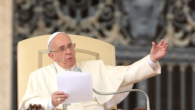 Pope Francis plans to roll out a  teaching document on climate change in June.