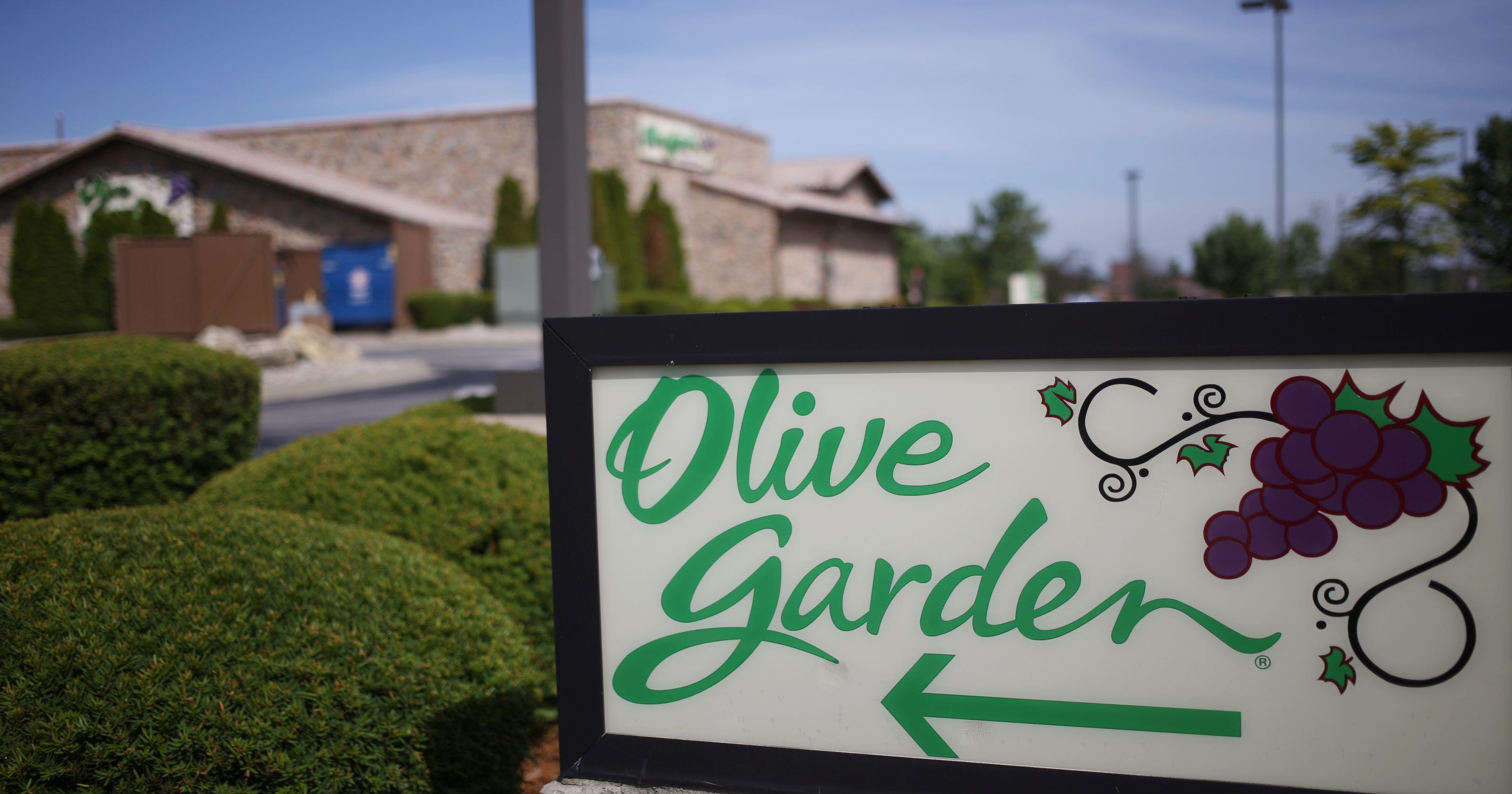 Darden swings back to q2 profitability on higher sales at olive garden longhorn for Is olive garden open on thanksgiving