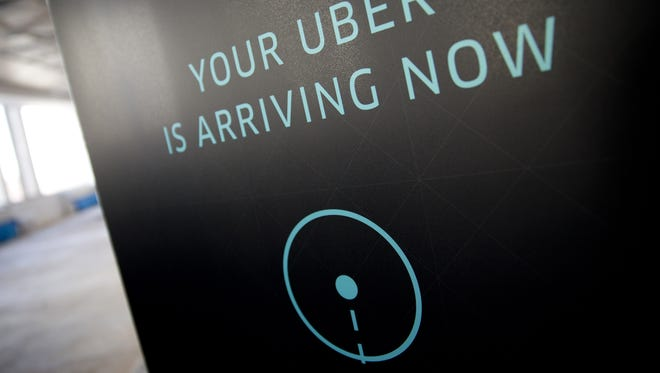 Uber is becoming a more popular way to get around the Jersey Shore.