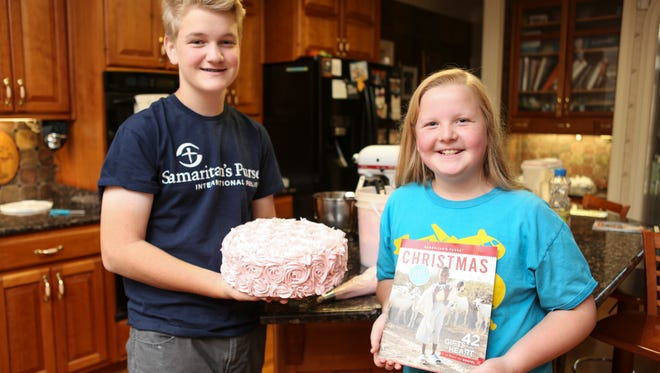 15-year-old Gabe Feinn and his sister, Livvy, 11, raised $35,000 to help build a hospital in the Democratic Republic of the Congo, working through the North Carolina organization Samaritan's Purse.