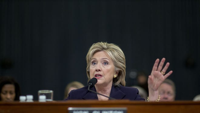 Hillary Clinton tells the Benghazi panel she tried to improve security for State Department workers after the attack in Libya.