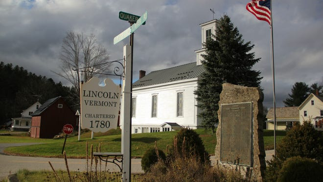 The town of Lincoln as seen on Oct. 25.