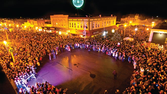 """Ludington is home to what they like to call """"West Michigan's largest New Year's Eve Ball,"""" offering a sparkling small-town New Year's Eve celebration."""