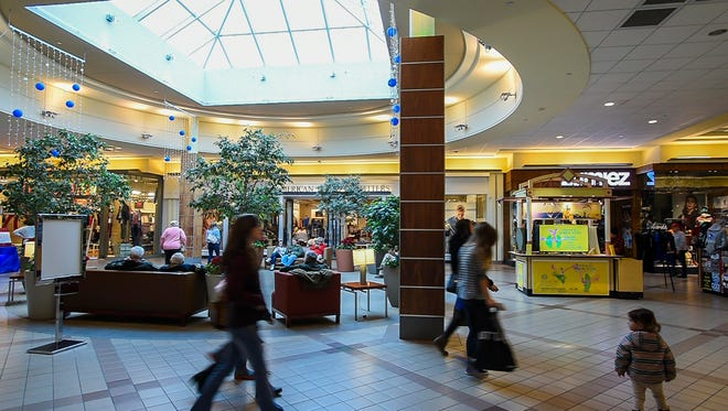 The University Mall in South Burlington on Wednesday, December 30, 2015.
