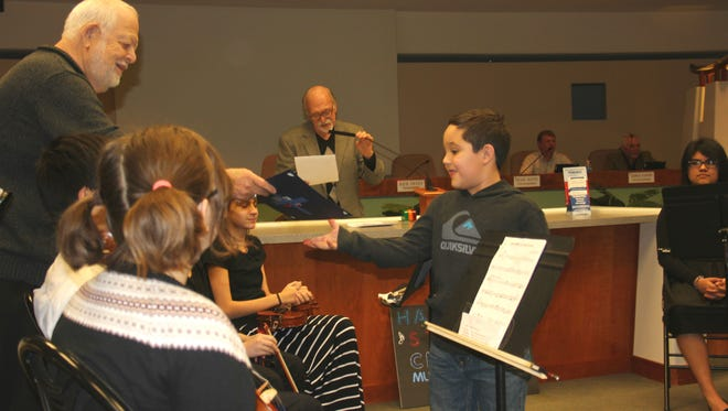 Eight children received First Place for their artwork and essays advocating for breathing clean air in Mesquite.