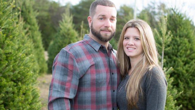 Danielle Marie Clark and Steven Spencer Jr.