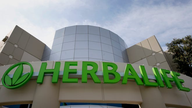 The Herbalife Ltd. Los Angeles distribution center stands in Carson, California, U.S., on Tuesday, March 4, 2014. Hedge fund manager Bill Ackman has accused Herbalife of being a pyramid scheme and the company has repeatedly denied Ackman's claims.
