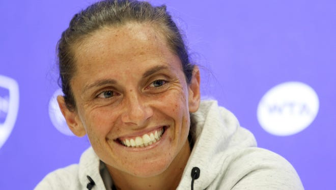 World No. 8 Roberta Vinci is enjoying life and tennis and not worrying yet about her decision to retire, which she expects to come after the season. She plays this week in the Western & Southern Open in Mason.