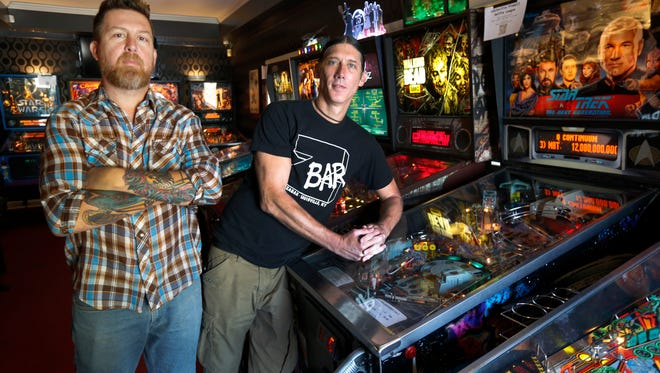 Brothers Antz and Jon Wettig are the owners of the Zanzabar. The brothers are expanding so that they can separate the bar's music venue from its restaurant and arcade.  Oct. 26, 2016.