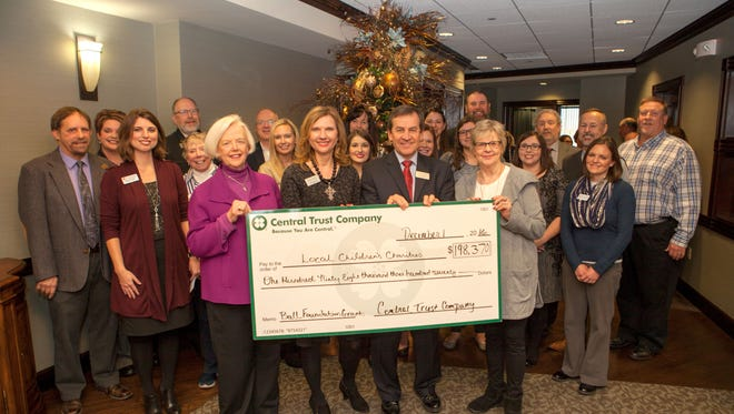 The Stanley and Elaine Ball Foundation, managed by Central Trust Company, announced the recipients of its 2016 grant cycle to local nonprofit agencies on Thursday morning.